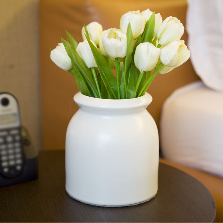 2014 new seconds kill m vases vase terrarium bencher vase home furniture decorations modern brief accessories white t82