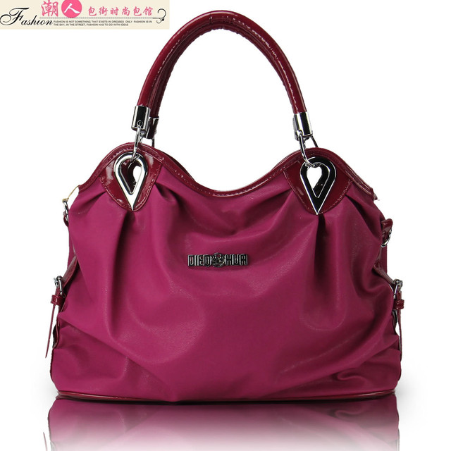 2012 women's handbag shoulder color candy color bag