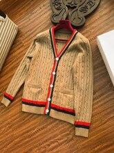 Новинка 2018 Высокое качество модные свитера для подиума летние человек Роскошные брендовые Мужская одежда A08290