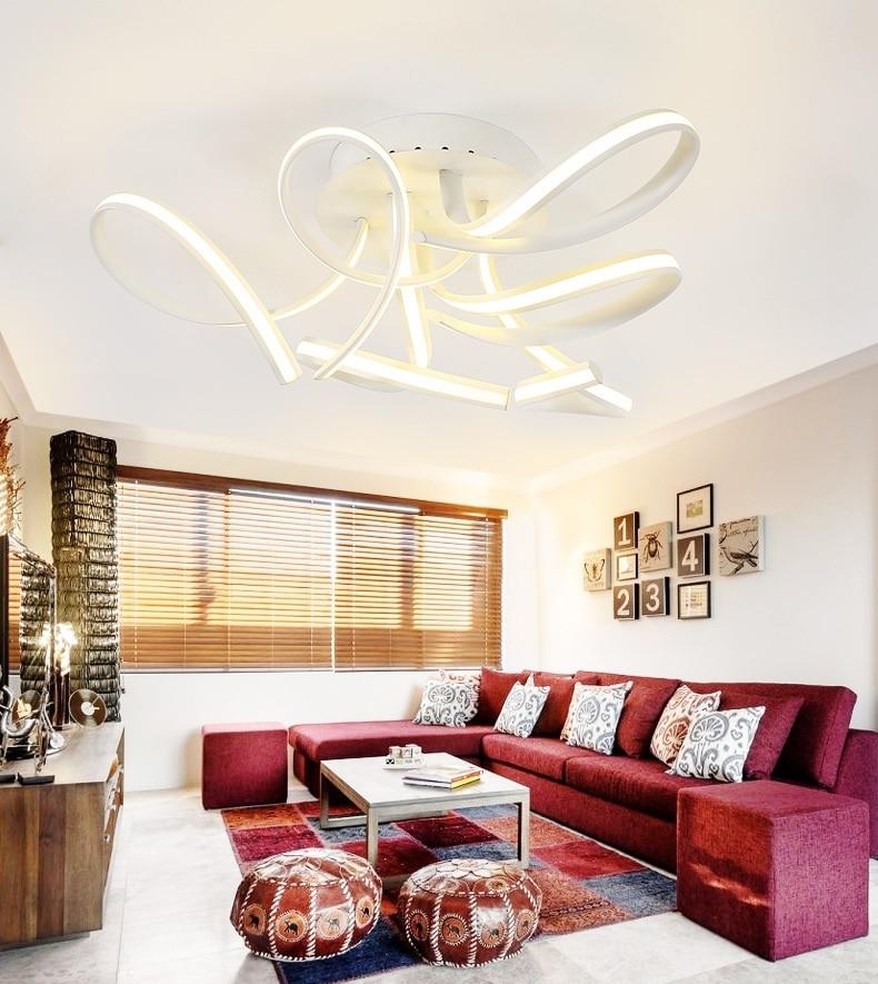 Art shaped LED ceiling lamps home living room bedroom study restaurant lights office commercial lighting Ceiling lights 110 240V Ceiling Lights     - title=