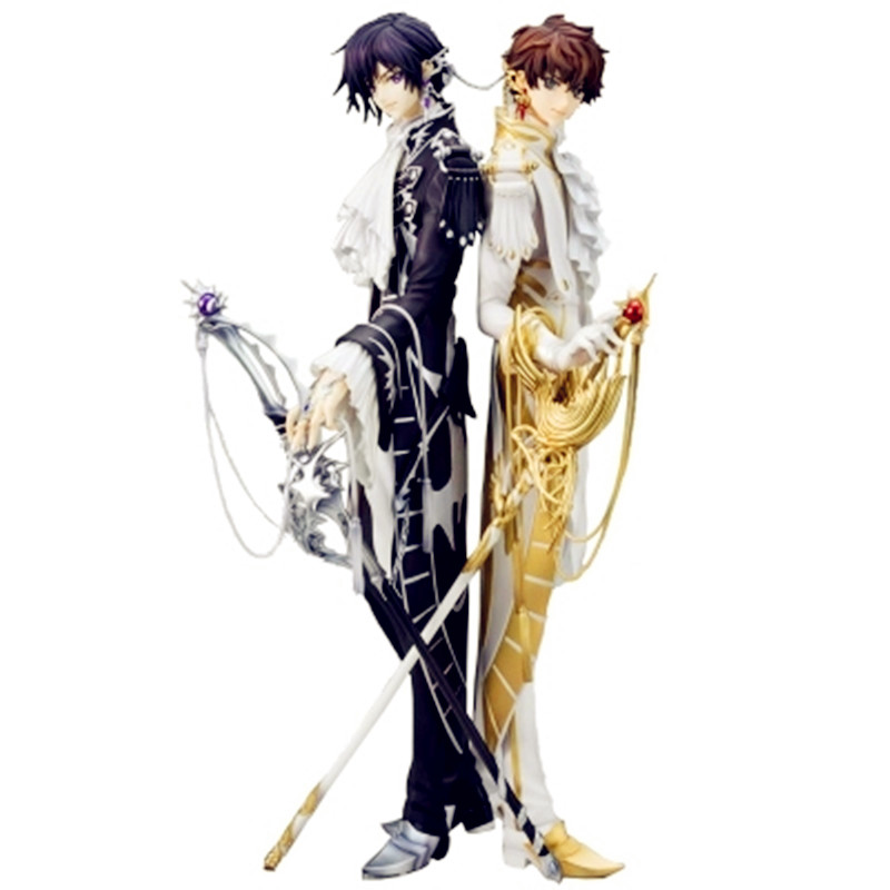 CODE GEASS Lelouch Of The Rebellion Lelouch Lamperouge Knight Of Seven Suit PVC Action Figure Model Giocattolo G1366 24cm kururu suzaku code geass lelouch of the rebellion action figure pvc collection model toys brinquedos for christmas gift