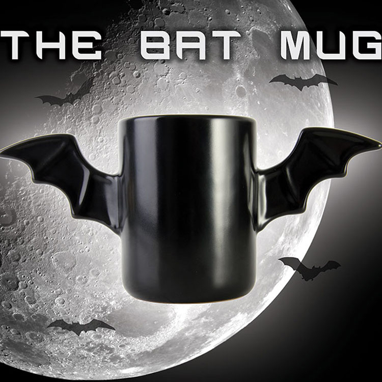 Bat Coffee Cup Bruce Wayne Heatproof A Pair Wings The Dark Of Host Ceramic Coffee Bat Mug Cup tumbler