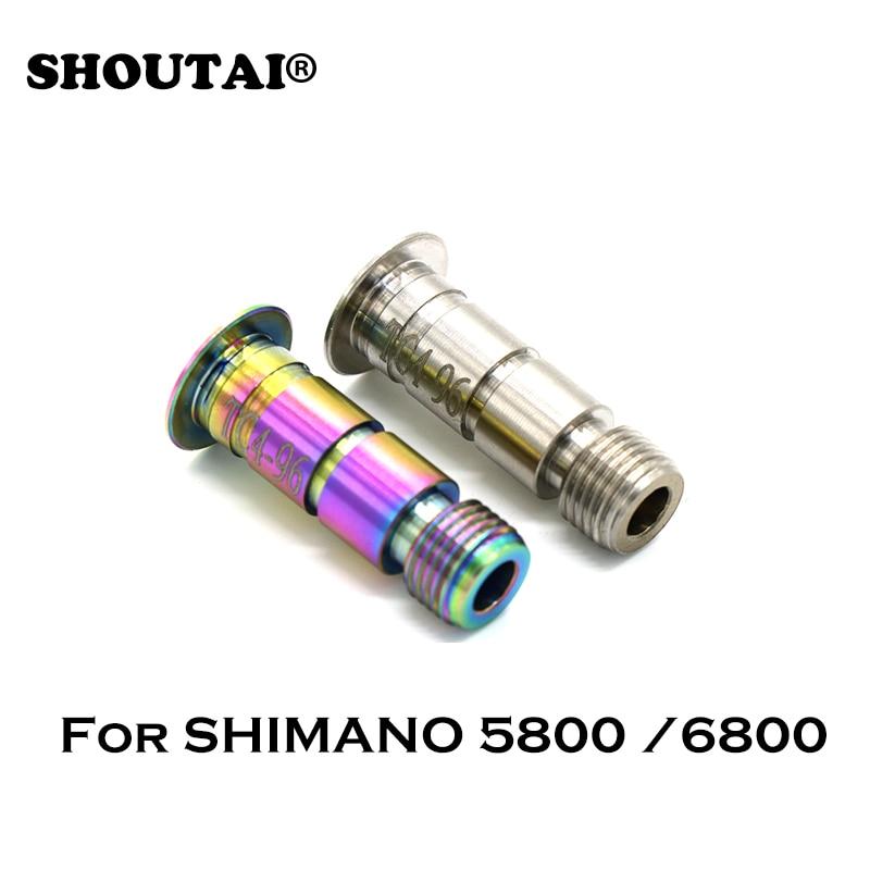 Bicycle TC4 Titanium Alloy Rear Derailleur Screw For SHIMANO 5800/6800/SLX/ XT Bike Parts