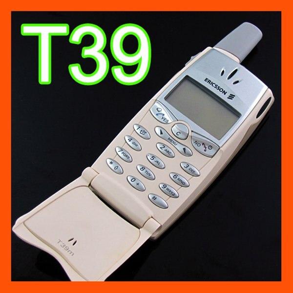 Цена за Первый в мире Bluetooth Телефон в Исходном Ericsson T39 Мобильный Телефон Восстановленное Перекрасили корпус