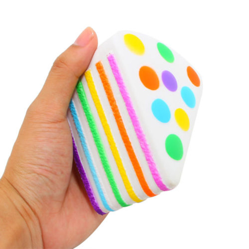 Mobile Phone Straps Cellphones & Telecommunications Careful Layer Rainbow Cake Squishy Doll Simulation Bread Phone Strap Diy Decor Colorful Pu Cake Toys Home Decoration Craft Kids Toys P15 100% Original