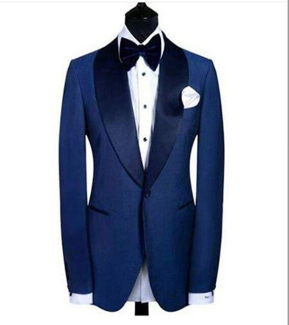 Bleu Cravate Costume Nouveautés multi Fait Un Commande Bouton Sur Gilet D'arc veste Pantalon 2017 Marron U0Yqwx