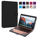 Stand Folio Flip PU Leather Skin  Cover  for Macbook 12 inch laptop bag case Hot Business Holster PU leather Cover