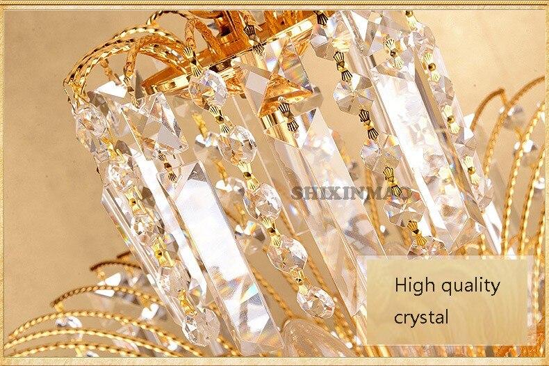 cristal de Luxo sala de estar sala