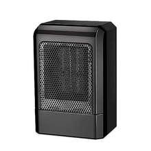 500W MINI แบบพกพาเซรามิคเครื่องทำความร้อน Cooler ร้อนพัดลมบ้านฤดูหนาวอุ่น (US Plug)