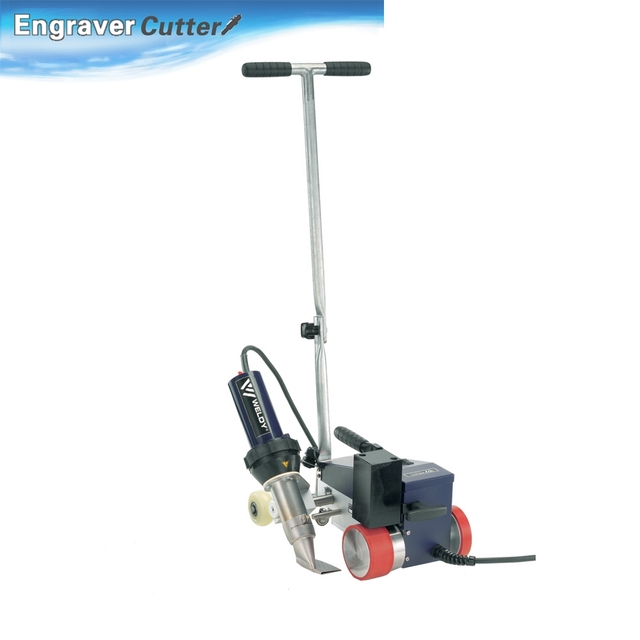 AC220V Roofer RW3400 Automatic Roofing Hot Air Welder with 40mm Overlap Nozzle(single phase)