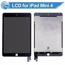 Original completa pantalla lcd de pantalla táctil lcd para ipad mini 4 panel del bisel del digitizador para el reemplazo de la pantalla lcd de ipad mini 4 completo