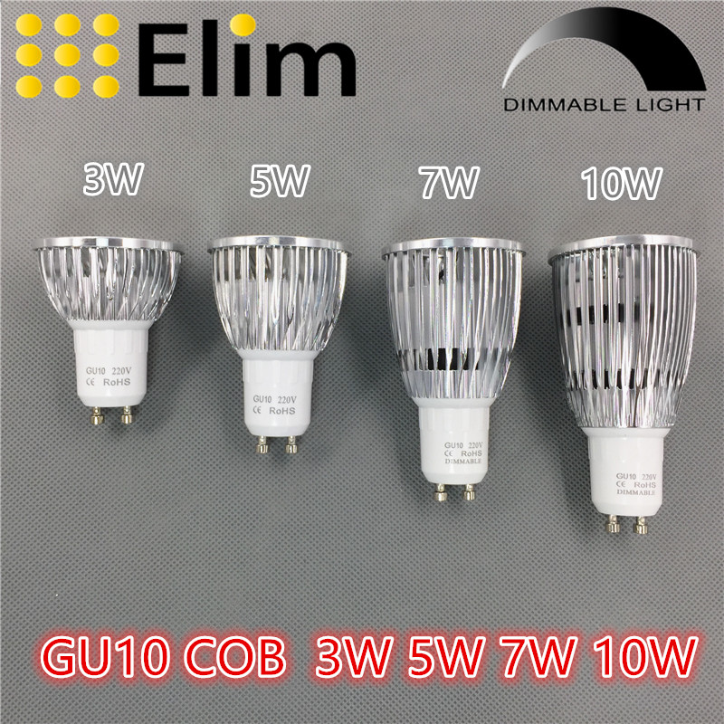 Light Bulbs Led Bulbs & Tubes Beautiful 3w 5w 7w Spot Light Led Bulb Led 85v-265v 12v Gu10 E27 Cob Mr16 2700k 3000k Warm White Bulb Replace Energy Saving Lamp