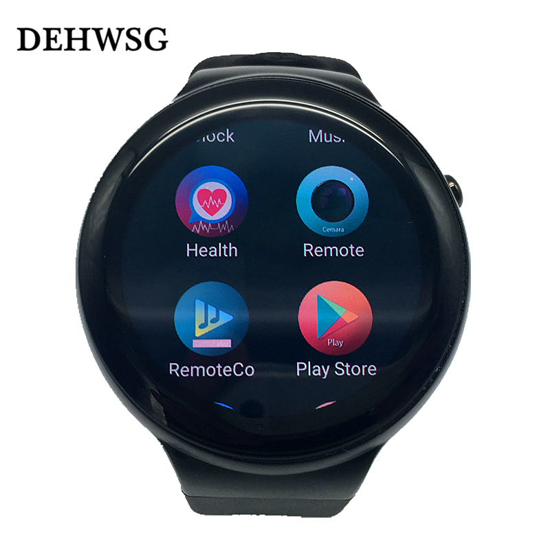 DEHWSG IQI I4 Android 5.1 Smart watch MTK6580 1GB RAM 16GB ROM support Heart rate 3G WiFi GPS watch phone For Android Samsung