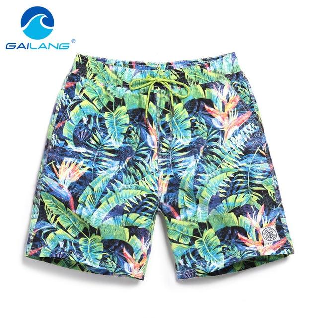 Gailang Brand Men Shorts Summer Beach Shorts Board Quick Dry Leisure Casual Shorts Men's Trunks Big Size XXXL marca Bermuda