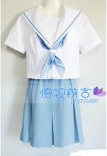 Nuevo anime cosplay uniforme escolar japonés lindo lolita dress set vestidos de uniforme de marinero