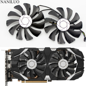 Image 1 - New 85MM HA9010H12F Z 4Pin Cooler Fan Replacement For MSI GTX 1060 OC 6G GTX 960 P106 100 P106 GTX1060 GTX960 Graphics Card Fan