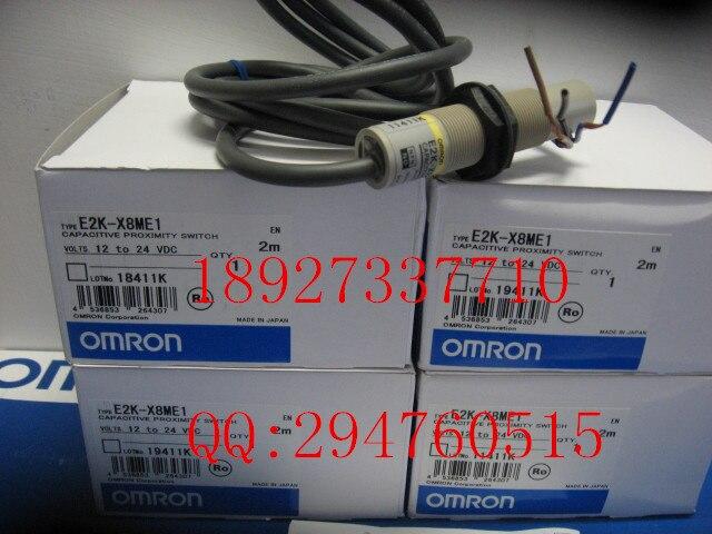 [ZOB] 100% new original optical proximity switch OMRON Omron E2K-X8ME1 2M new original ifs204 door proximity switch high quality
