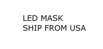 LED maske schiff von usa