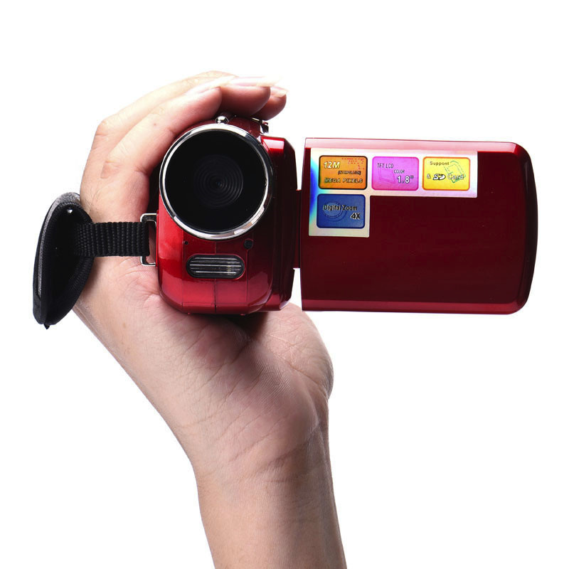 Mini 1.8 Inch TFT 4X Digital Zoom Mini Video Camera Camcorder Multi-language Portable Outdoor Travle Wholesale