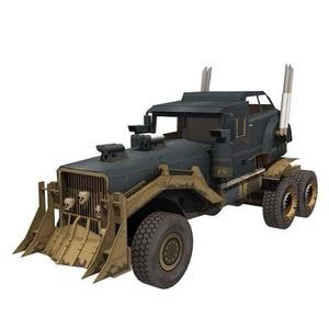 Image 3 - FAI DA TE di Carta Modello di Mad Max War Rig 1:25 Papercraft FAI DA TE Assemblare Fatti A Mano Di Puzzle Gioco Educativo Giocattolo