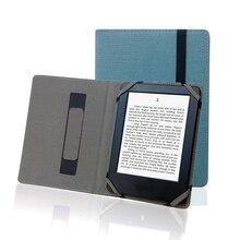 "Case voor DENVER EBO 620 6 ""ebook Natuur Hennep Cover Beschermende Shell Skin"
