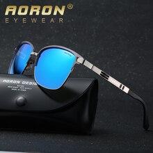 Aoron мужской бренд поляризованные очки мужские классические дизайнер uv400 очки отдых очки мода очки óculos де золь a378