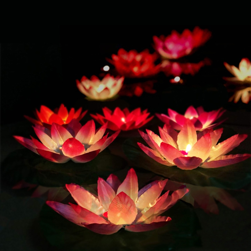Magical amazing blossom lotus flower light party festival romantic magical amazing blossom lotus flower light party festival romantic lamp candle in lanterns from home garden on aliexpress alibaba group mightylinksfo