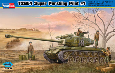 Hobby Boss 82426 1/35 T26E4 Super Pershing Pilot #1 plastic model kit