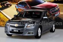 Gray 2014 1/18 Chevrolet Chevy Malibu Alloy Model Car Brinquedos Die Casting Parts