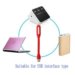1 шт. гибкий USB светодиодный светильник для компьютера, клавиатуры, чтения ноутбука