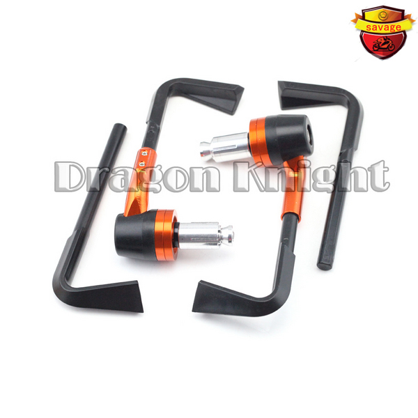Motocycle Accessories Universal 7/8 22mm Brake Clutch Levers Protect Guard For KTM 125 200 390 DUKE Orange