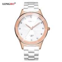 LONGBO Brand 2017 New Fashion Lovers Watches Casual Men Women Quartz Watch Luxury Blassic High Quality Couple Wristwatch 8631