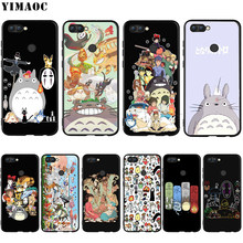 YIMAOC Studio Ghibli Totoro Custodia In Silicone per Huawei Mate 10 P8 P9 P10 P20 Lite Pro P Y7 Y9 Smart mini 2017 2018(China)