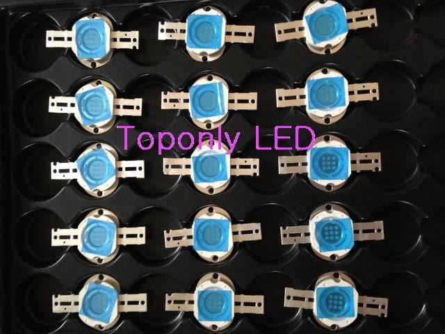 10W EE. UU. Bridgelux Chips Super Brillante Royal Blue Color LED de - Iluminación LED
