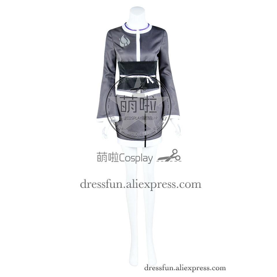 RWBY Cosplay Blake Belladonna Team RWBY Costume Kimono Dress Gray Black Uniform Party Halloween Fashion Fast Shipping