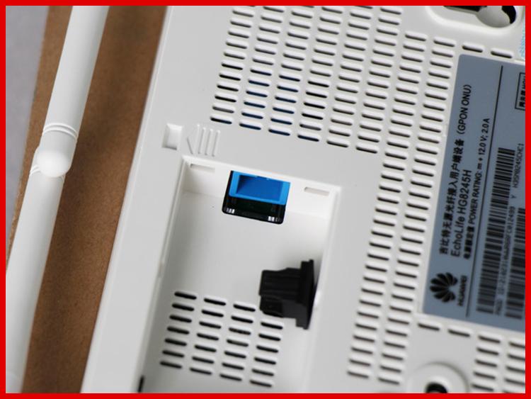 HG8245H GPON ONT ONT FTTH HGU Router Modo 4GE 2Tel 1USB WIFI BBU Mesma  função que HG8245HE HG8247H GPON ONT ONT