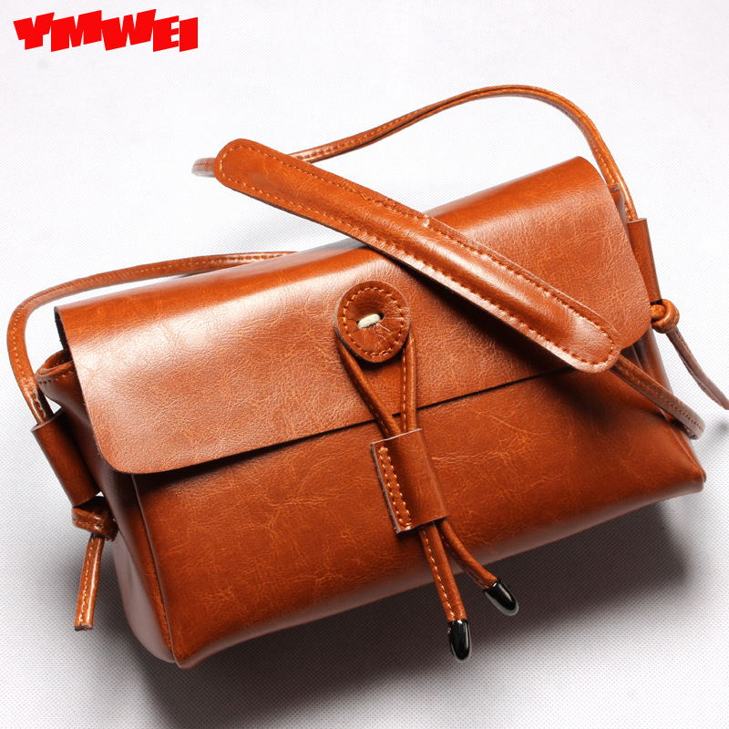 YMWEI The new 2016 leather font b handbag b font fashion leather small party bag lady