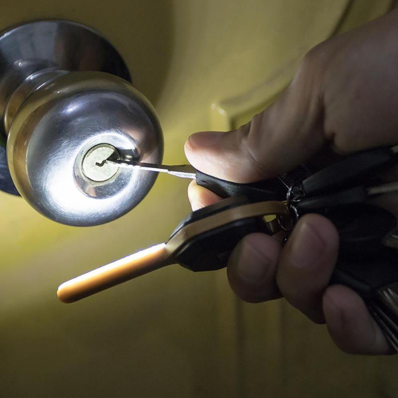 Led Flashlights Lights & Lighting Clever Portable Mini Led Flashlight Keychain Lamp Torch Pocket Mini Light Keyring Flashlight Hand Light For Home Torch