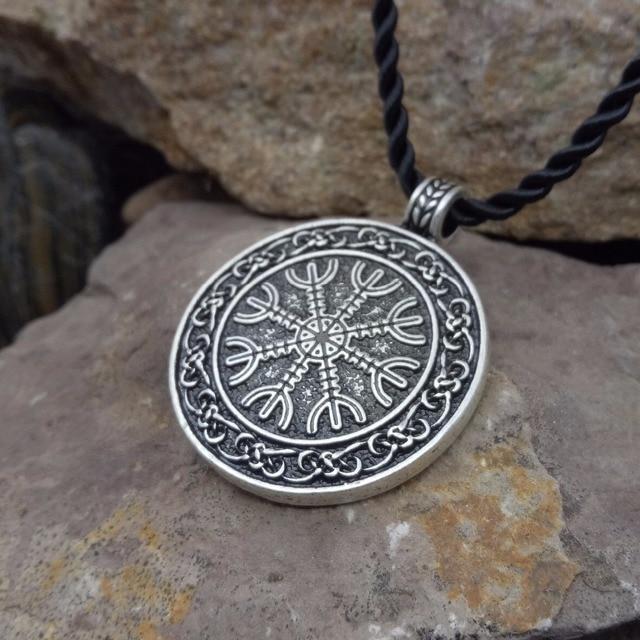e9c8bdba3 the helm of awe viking pendant scandinavian norse viking jewelry  aegishjalmur SanLan
