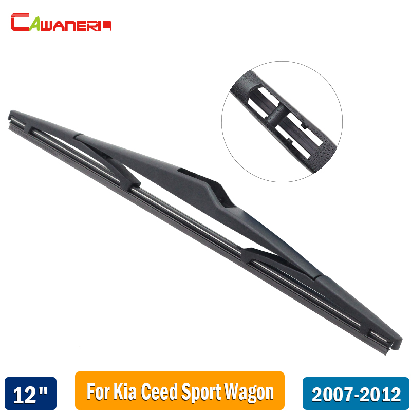 Cawanerl для KIA ceed Ceed sport wagon 2007-2012 автомобилей задний стеклоочиститель лезвия мягкой резины сзади окна стеклоочиститель 12 310 мм