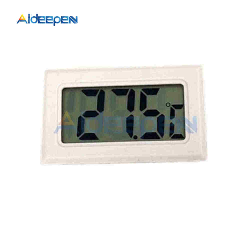 Встроенный ЖК-цифровой термометр для морозильной камеры Температурный датчик-50 ~ 110 градусов холодильник термометр