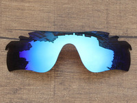 Ice Blue Mirror Polarized Replacement Lenses For RadarLock Path Vented Sunglasses Frame 100 UVA UVB Protection