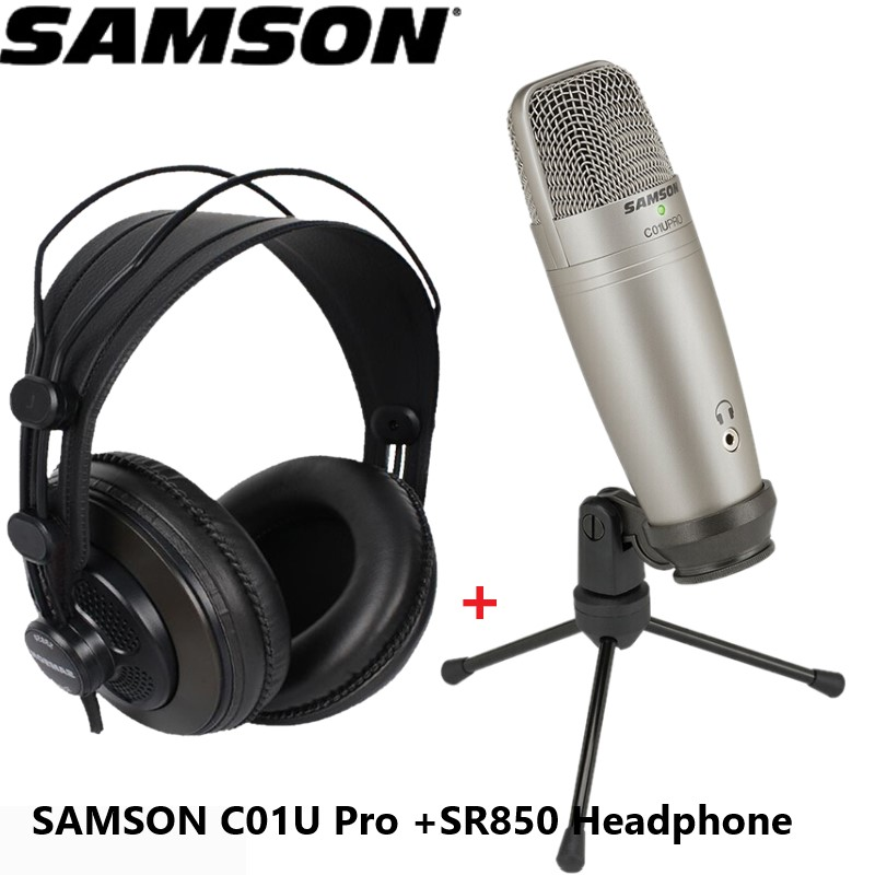 2 X Samson Meteor USB Condenser Microphone~LIKE NEW OPEN BOX