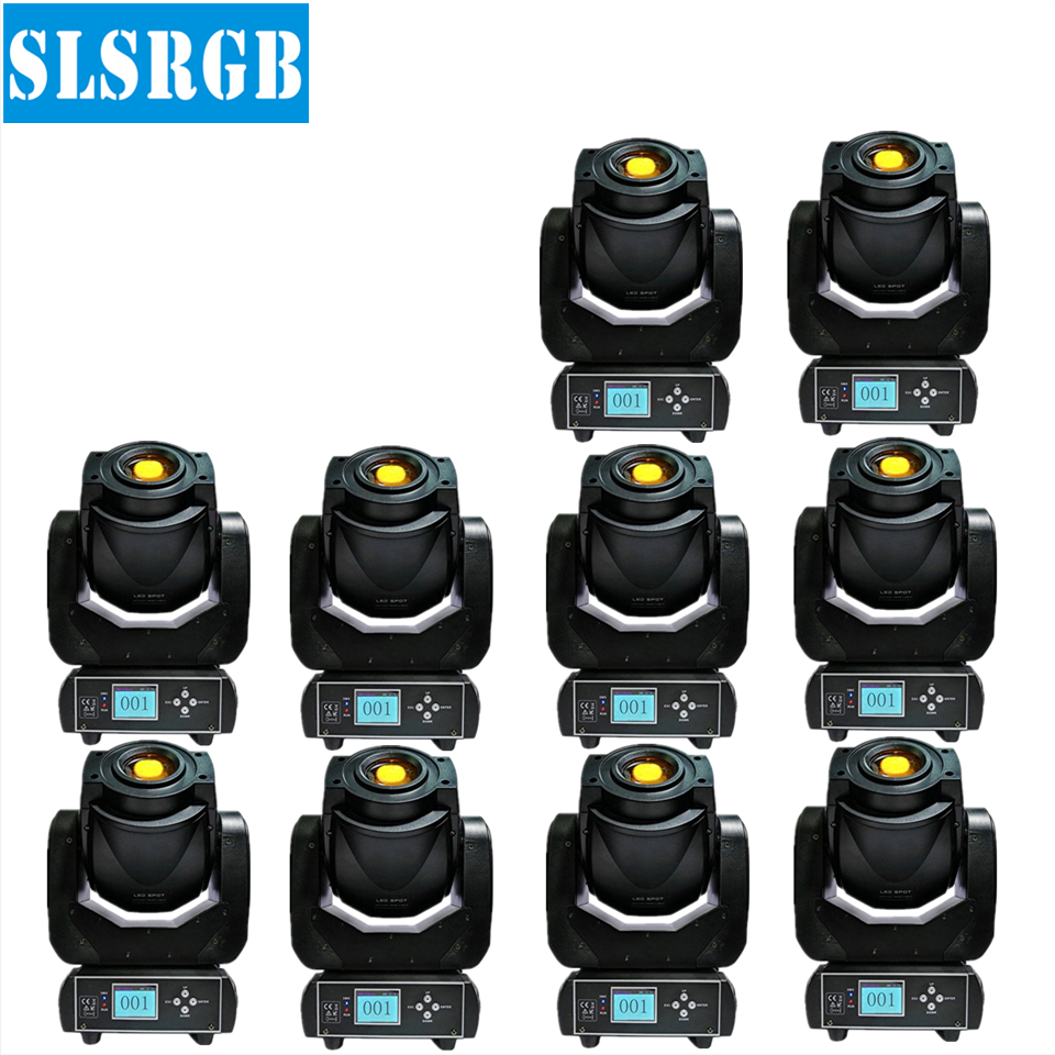 10pcs/lot led pattern 90w led spot moving head gobo 3-prism Lighting 90W LED Spot Moving Head for nightclub Led Disco Effect