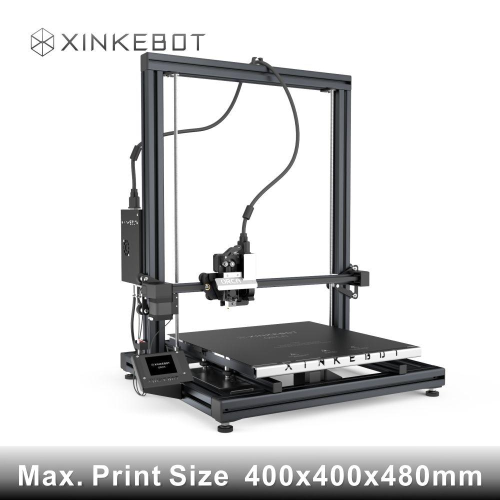 Actualizado Calidad Alta Precisión Xinkebot i3 Prusa 3D Kit de Impresora con Pa