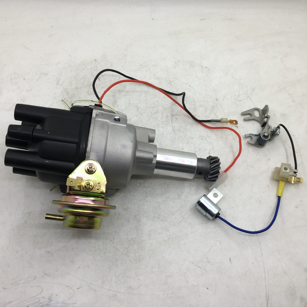 SherryBerg Distributor Electronic IGNITION electrical Distributor For Nissan Datsun Sunny A12 A14 A15 B110 B210 B120 Pickup carburetor for nissan a12 cherry pulsar sunny vanette sunny truck carby carbie b210 carbs