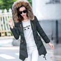 New warm Winter jacket women 2016 Fashion Women coat thick hoody winter coat slim women parka warm womens Down jacket  2210