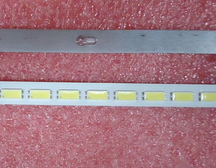 570mm LED Backlight Lamp Strip 64 Leds For LTA460HQ18 L46V7300A-3D L46E5000-3D 46 Inch LCD Monitor High Light Free Shipping