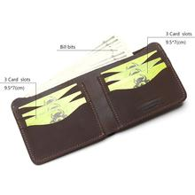 TAUREN 2019 100% Cow Genuine Leather Men Wallets Vertical Style Crazy Horse Leather Newest Desgin Male Purse Leather Thin Wallet