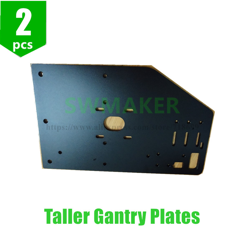 SWMAKER 2pcs Taller Gantry Plates for OX Heavy Duty CNC machine 3D printer parts